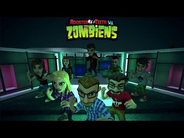 Rooster Teeth vs. Zombiens Game Trailer