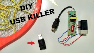 How to make USB Killer