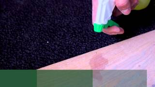 Removing a wine spot with Surface Care