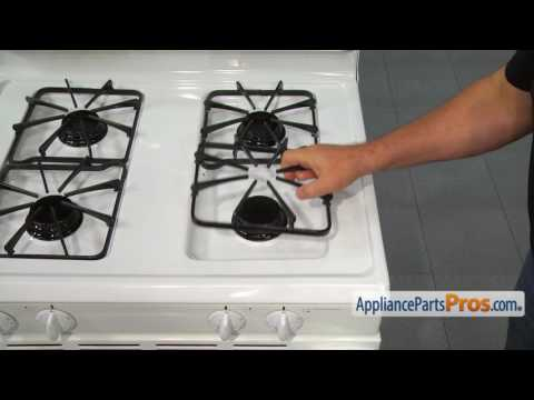 Range Sealed Gas Burner Head (part #WP3412D024-09) - How To Replace