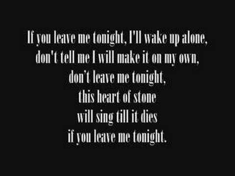 Secondhand Serenade-Stay Close, Don't Go Lyrics