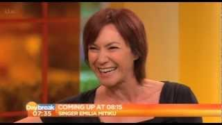 Tanya Franks on the UK's Daybreak Television