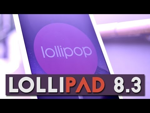 Lollipop 5.0.2 | Impressioni su LG G Pad 8.3!