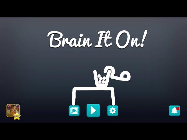 Видео к игре Brain It On! - Physics Puzzles