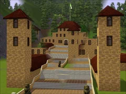 comment construire une eglise dans les sims 3
