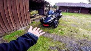 7. FLIGHT MISSION!! - On a 2016 Spyder RT! | MotoVlog 257