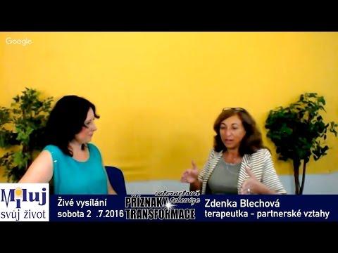 Zdenka Blechová – partnerské vztahy, komunikace mezi mužem a ženou