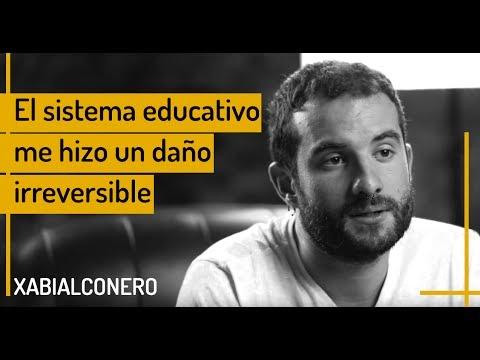 Xabi Alconero - El sistema educativo me hizo un daño irreversible  Instashoot