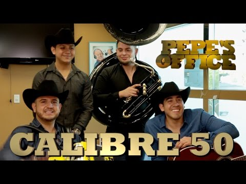 CALIBRE 50 ESTRENA DISCO - Pepe's Office - Thumbnail