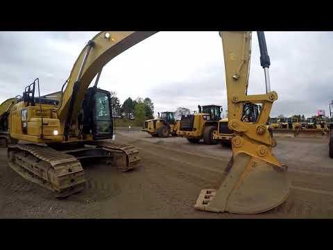 CATERPILLAR TRACK EXCAVATORS 329FL equipment video n4Iujqddkhk