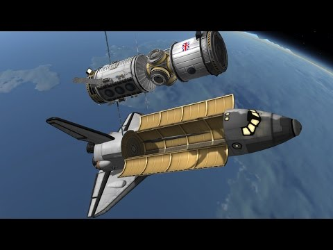 Kerbal Space Program: Building a Space Station!