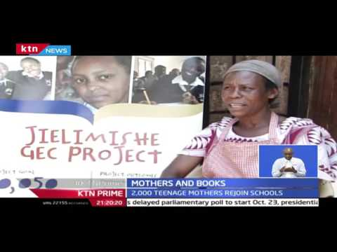 KTN Prime: Initiative to give education to teenage mothers launched in Meru, 27/9/2016