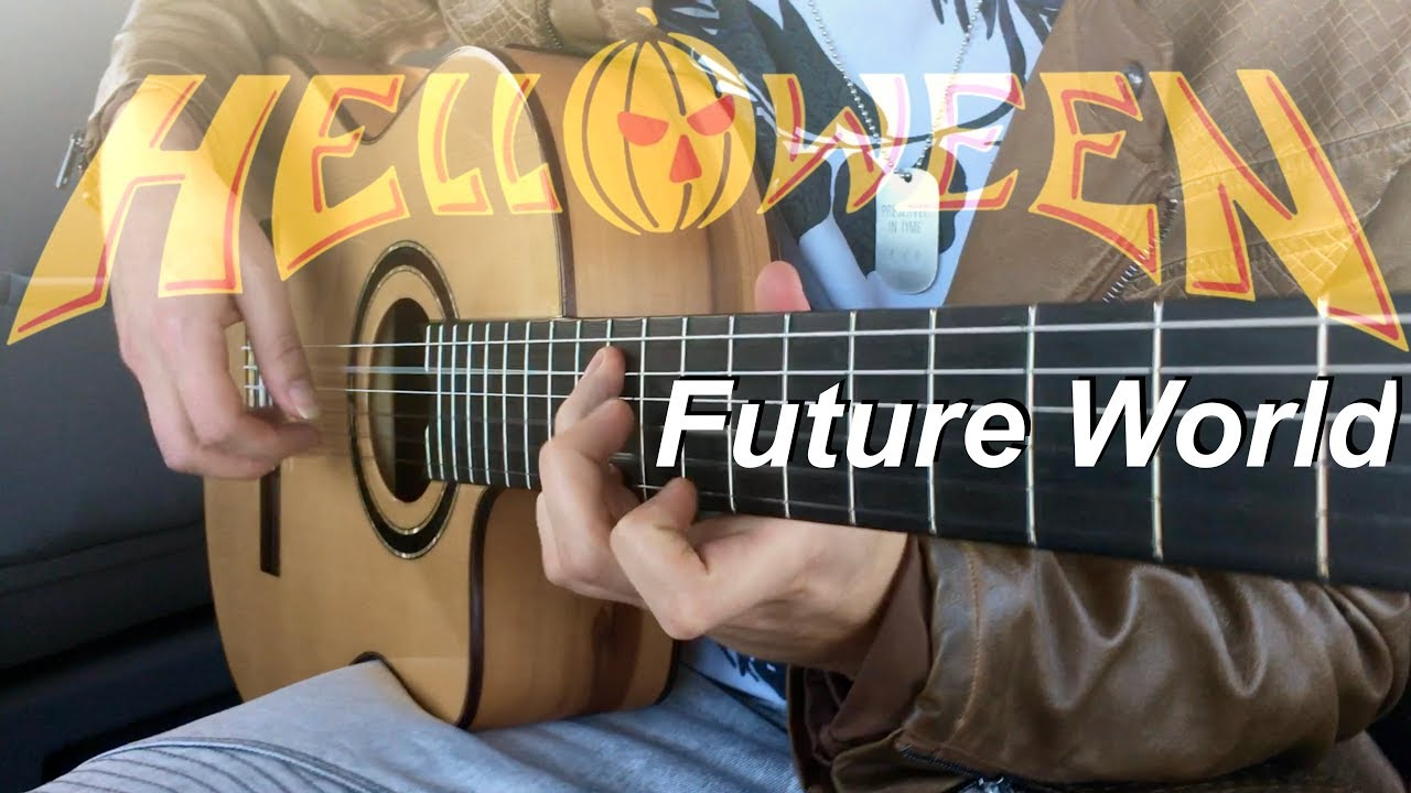 Future World – HELLOWEEN (Acoustic) – Fingerstyle Guitar by Thomas Zwijsen