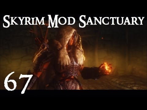 skyrim mod - Skyrim Mod Sanctuary 67 : Aesir Armor, Warrior Within Swords and Immersive Beds Installation for all the mods shown in this video can be seen here : http://w...