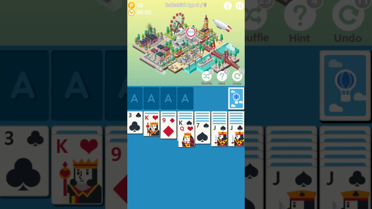 'Age of Solitaire' is a Cool City-Building Solitaire Hybrid Launching Next Week