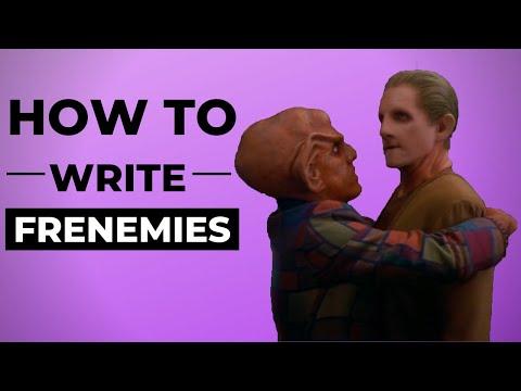 How to Write Frenemies -- A Tribute to Rene Auberjonois