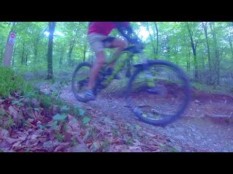 Mountan biking at Cardinum (видео)