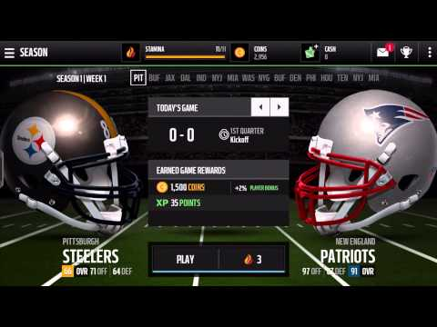 Video of Madden NFL Mobile