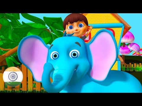 Hathi Raja | Hindi Balgeet | Nursery Rhymes in Hindi by Little Treehouse