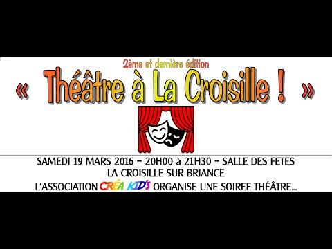 Théatre à La Croisille !