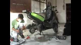 10. Converting rear drum brake to disc brake
