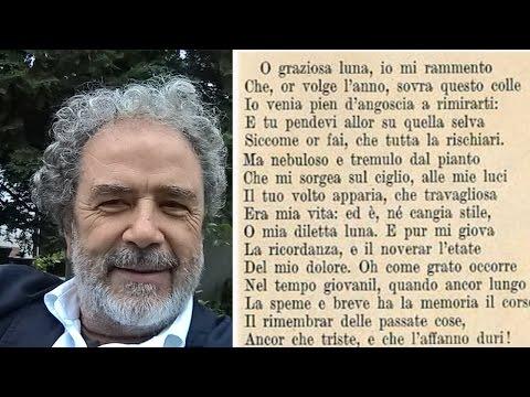 ALLA LUNA di Giacomo Leopardi - Dino Becagli