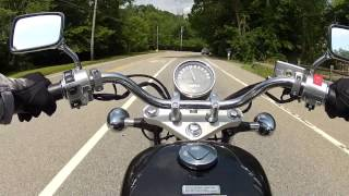 4. Ride on a Honda Shadow RS