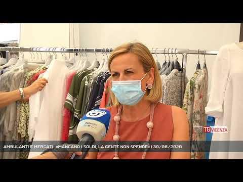 AMBULANTI E MERCATI: «MANCANO I SOLDI, LA GENTE NON SPENDE» | 30/06/2020