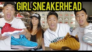 LIFE OF A SNEAKERHEAD 4 W/ A GIRL