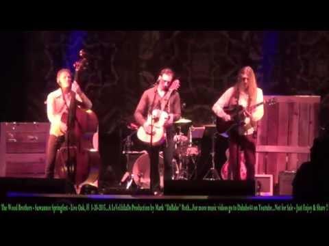 The Wood Brothers - Suwannee Springfest - Live Oak, Fl  3- 20- 2015
