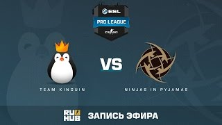 Team Kinguin vs. Ninjas in Pyjamas - ESL Pro League S5 - de_train [Davidokkkk, Kasunagi]