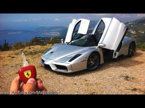 Ferrari Enzo in ACTION - Ride Powerslides Accelerations Revs! видео