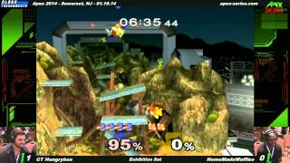 """HMW styles on HBox's Falco, all the while doing his own commentary/shit talking. """"AND I'M NOT DONE YET"""" [@2m 10s]"""