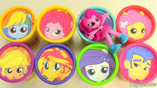 Video My Little Pony Equestria Girls Play Doh Surprises Best Learn Colors MP3, 3GP, MP4, WEBM, AVI, FLV Juni 2019