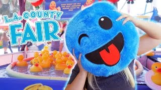 Awesome carnival game wins at the LA County Fair!