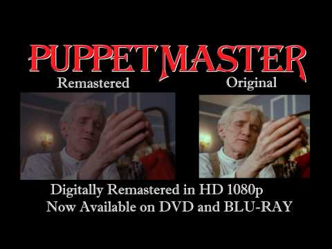 Puppet Master Remastered Comparison HD Blu-ray Vs DVD