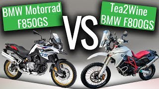 4. BMW F850GS 2018 (Initial thoughts)