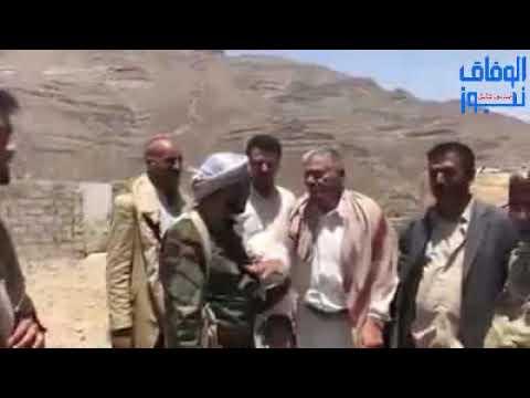 شاهد عبد الواحد الصيادي يخون التحالف و يسلم جبهة العود للحوثي مقابل سيارة