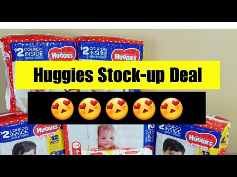 Huggies Stock-up Deal | Kroger Couponing | Jan 11th 2018