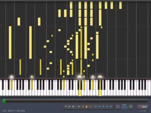 Mouretsu Pirates OP - Mugen no Ai (Synthesia) (видео)