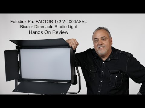 FotodioX Pro Factor V 4000ASVL Hands On Review