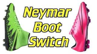 Neymar Boot Switch - Hypervenom to Mercurial, neymar, neymar Barcelona,  Barcelona, chung ket cup c1, Barcelona juventus