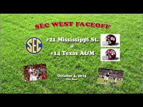 2015 Mississippi State @ Texas A&M One Hour