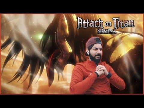Attack on Titan REACTION! Episode 12 - Wound: Battle of Trost District, Part 8 - Shingeki no Kyojin