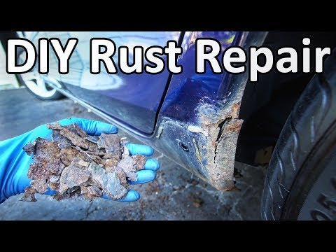 How to Repair Rust on Your Car Without Welding (No Special Tools Needed)