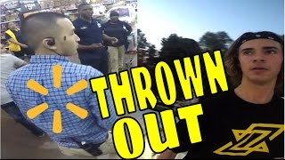 WALMART SECURITY KICKED US OFF THE ROOF!!