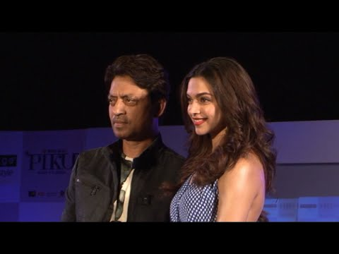 Deepika Padukone, Irrfan Khan & Soojit Sircar Unveiled The 'Piku Melange Collection