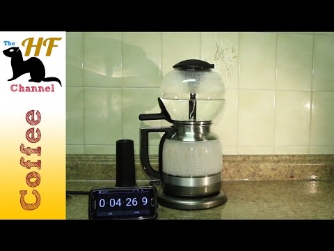 Making Coffee with the KitchenAid Siphon filter