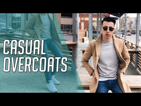 How To Wear an Overcoat Casually || Gent's Lounge Lookbook 2019