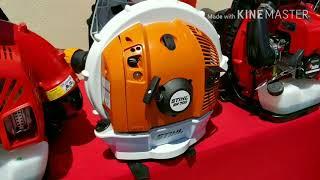 2. 2018 Leaf Blower Comparison Echo PB770, Redmax EBZ7500, Stihl BR700 and Redmax EBZ8500
